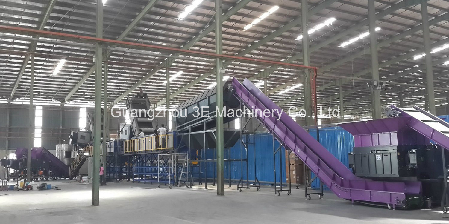 Pet Bottle Crushing & Washing Line of Recycling Machine with Ce