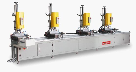 Multi Mitre Combination Drilling Machine for Aluminum Window 3