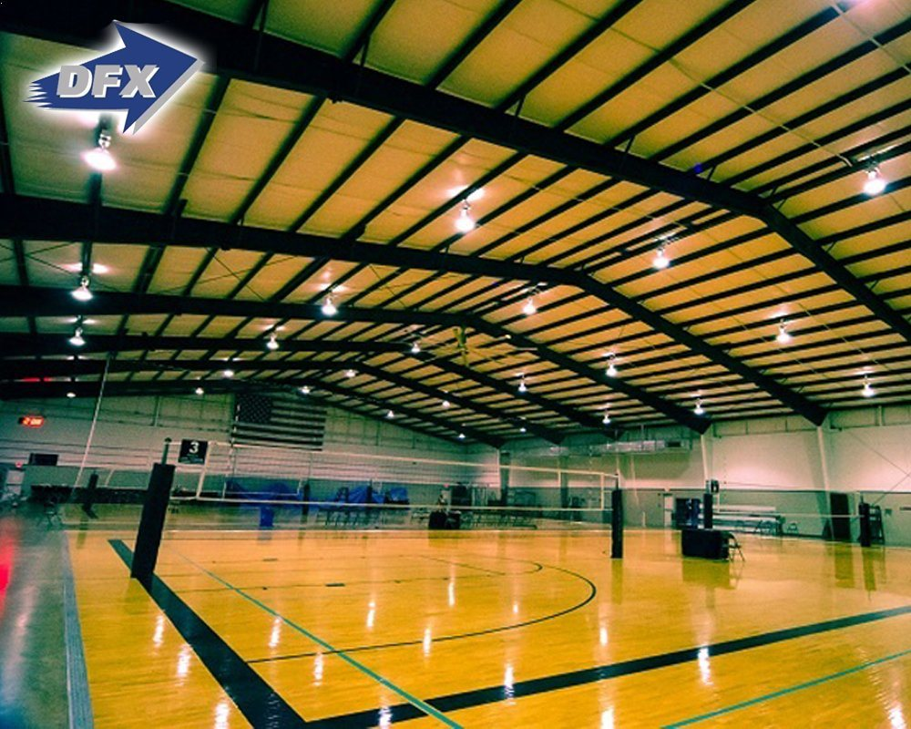 Steel Structure Indoor Basketball Sports Architecture Buildings
