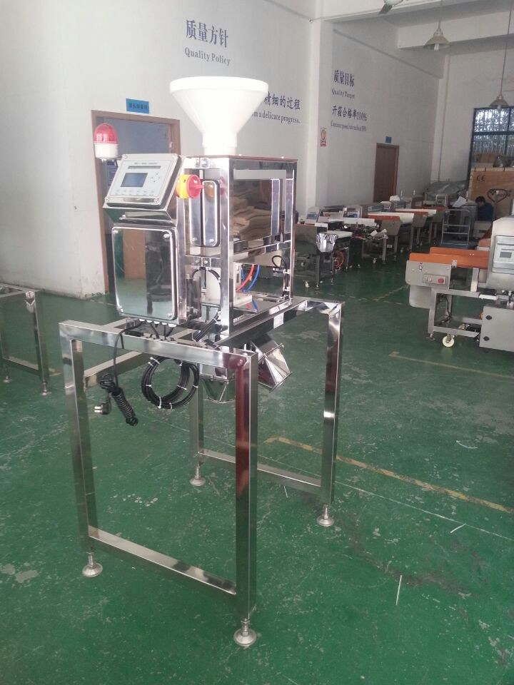 Vertical Free Fall Pipe Metal Detector for Powder Product