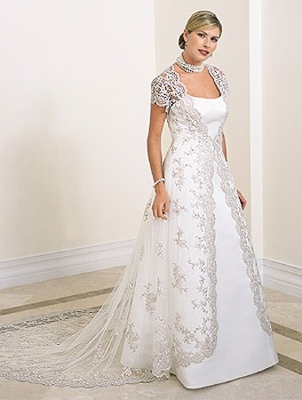 Lace Dress on Ald015    China Lace Wedding Dress Wedding Dress With Short Sleeves