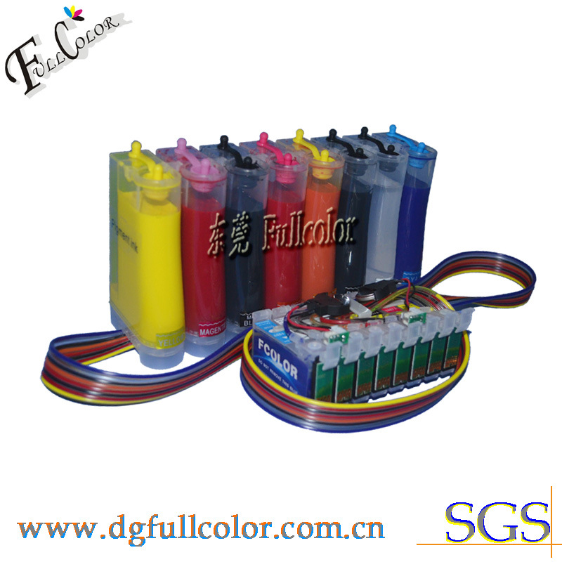 Epson R2000 Pigment CISS Ink Supply System with Arc Chip