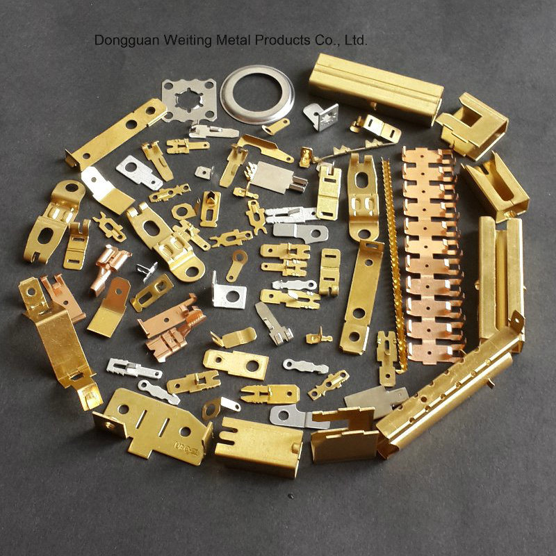 Copper Hardware Stamping Part Meet RoHS SGS ISO Standards