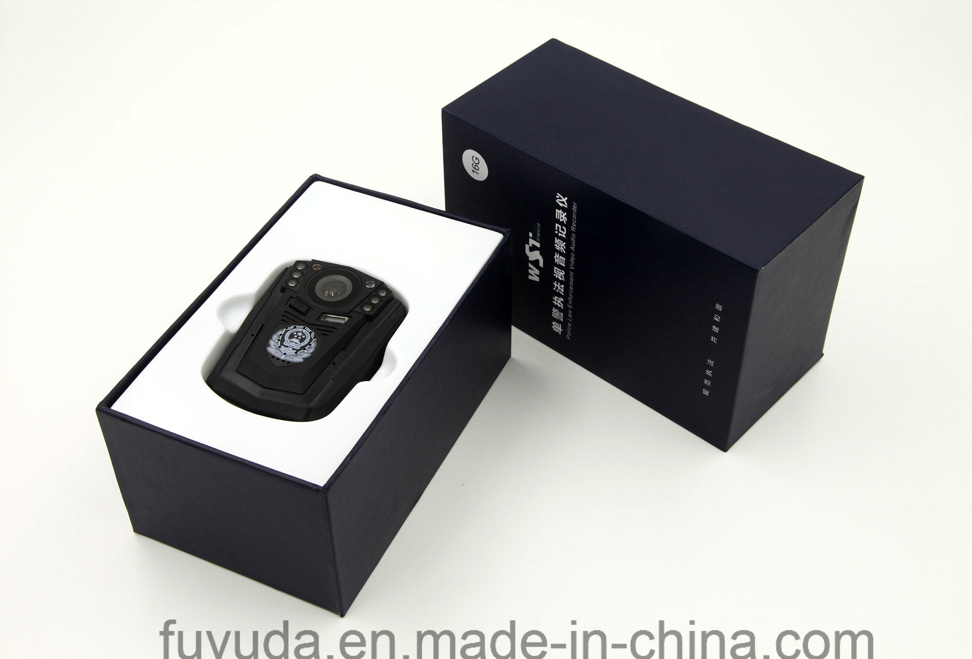 Fuyuda 1080P 140 Wide-Angle Police Worn Body Camera with Romote Control
