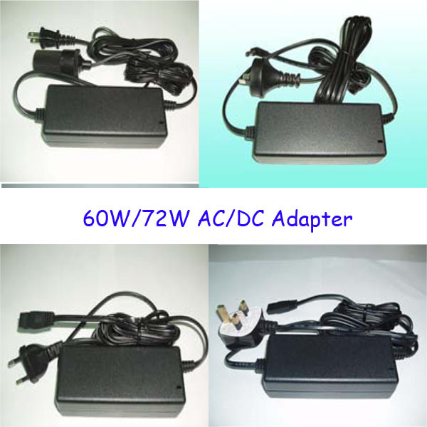 60W, 72W, AC/DC Adapter for Laptop, Air Purifier, Chiller.
