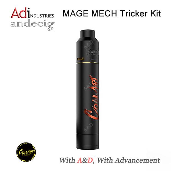 Coilart Mage Mech Tricker Kit 24k Gold Plated Mage Mech Mod