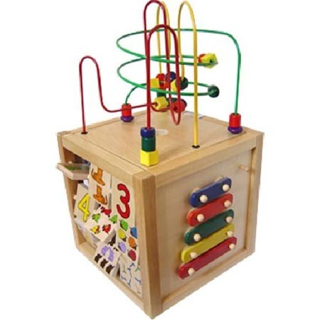 Pics Photos - Best Wooden Activity Cubes For Kids