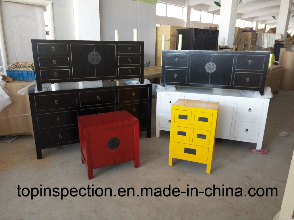 Sofa, Desk, Bed, Cabinet, Table furniture QC Quality Inspection