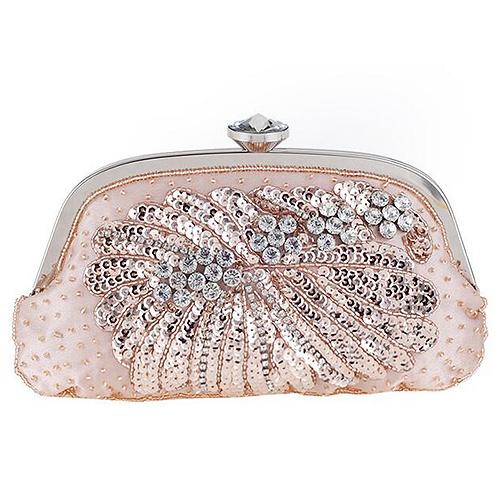 Wholesale Fashion Shinny Ladies Clutch Bag Women Purse and Handbags 2017 Eb925
