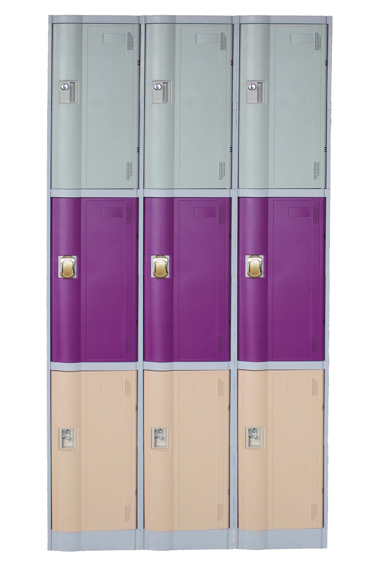 ABS Plastic Locker Cabinets for Fitness Center and Gym