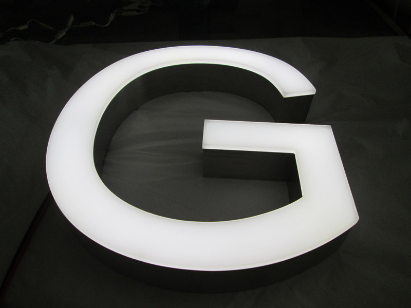 Outdoor Indoor Acrylic Aluminum Fabricated 3D Frontlit LED Illuminated Neon Sign Channel Letter