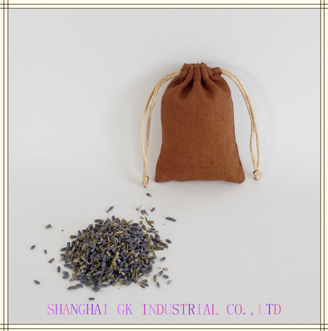 100% Nature Aroma Lavender Scented Linen Bag Sachet