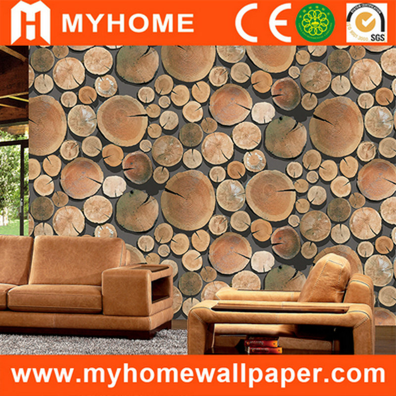 China Latest Design 3D Wood Wallpaper For Wall Decoration China   Wallpaper  For Wall Design