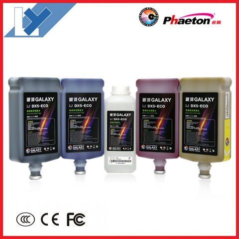 Cheap Price Digital Eco Solvent Inkjet Printing Pigment Ink (Galaxy DX5 ink)