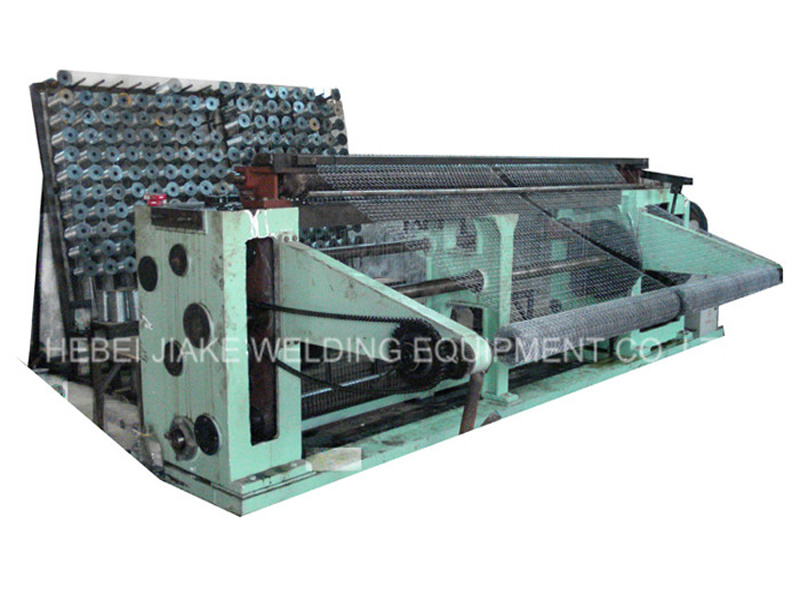 Good Quality Straight and Reverse Twisted Hexagonal Wire Netting Machine