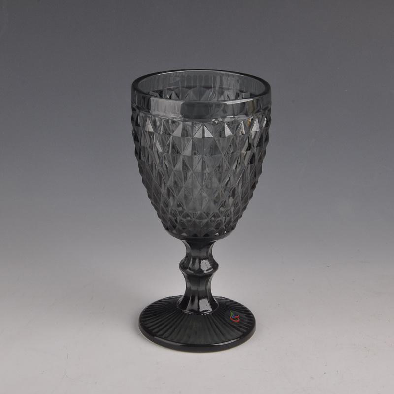 Colored Stem Wine Glass