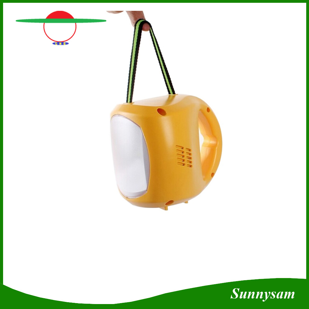 Multifunctional Solar Lamp Portable Solar Camping Lantern Outdoor Emergency LED Light with Mobile Phone Charging