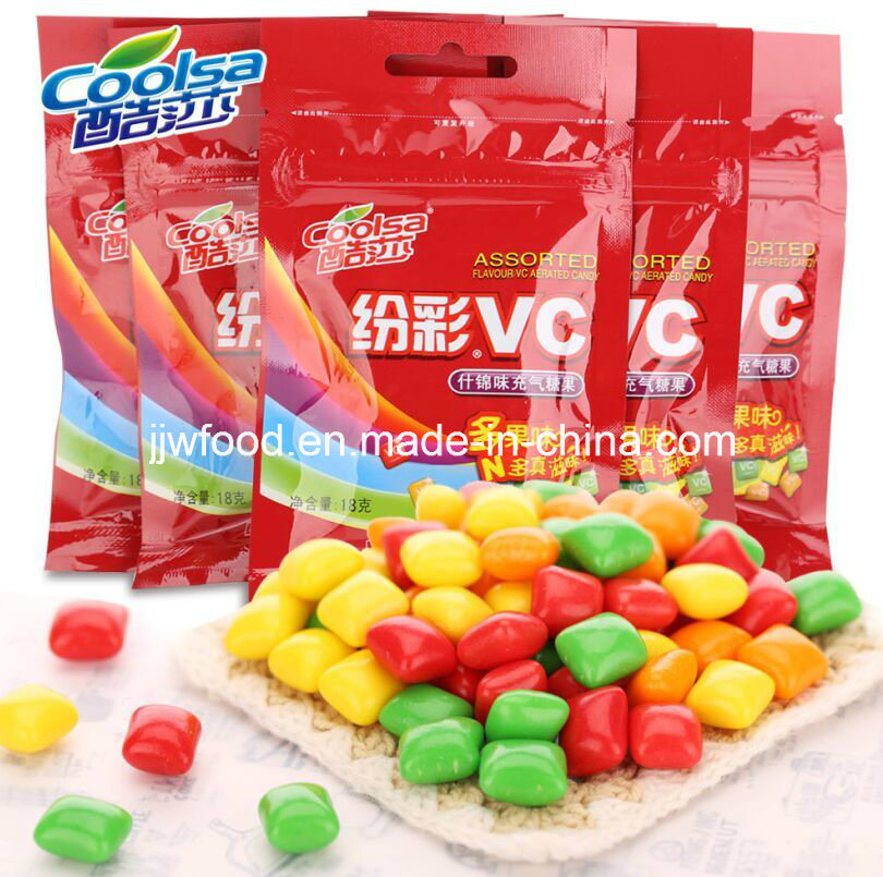 Coolsa Rainbow Vitamin C Sweets Chew Candy