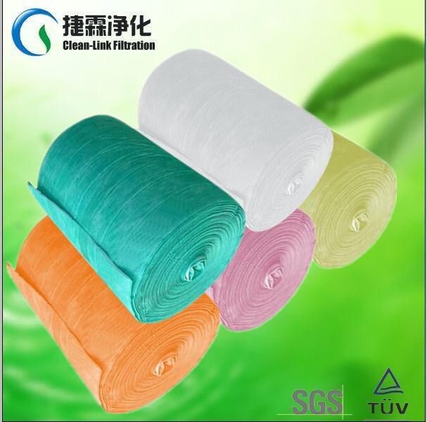 Pocket Filter Media for Air Filter (manufacturer)
