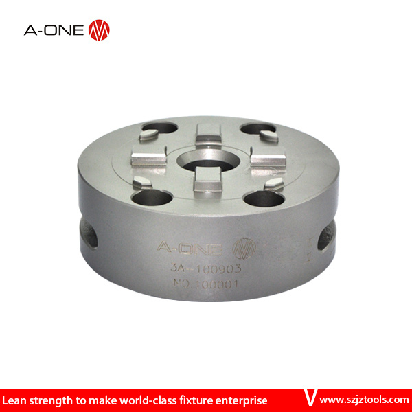 China 3r System Compatible Manual Round Lathe Chuck for CMM