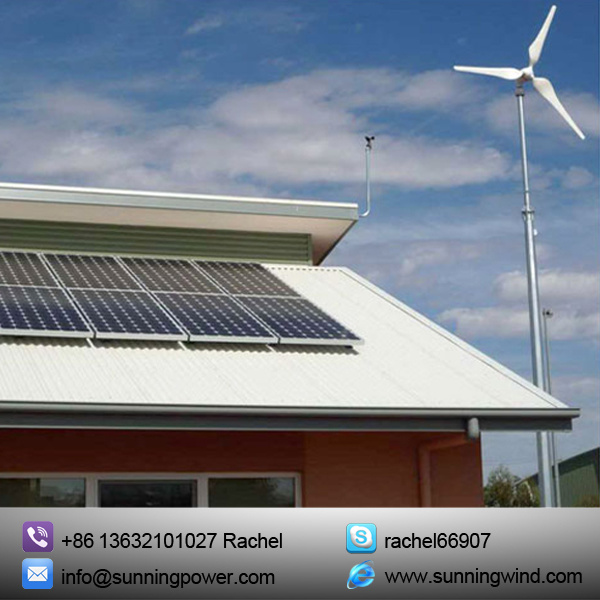 5kw Wind Turbine Generator Renewable Energy with Ce Certification