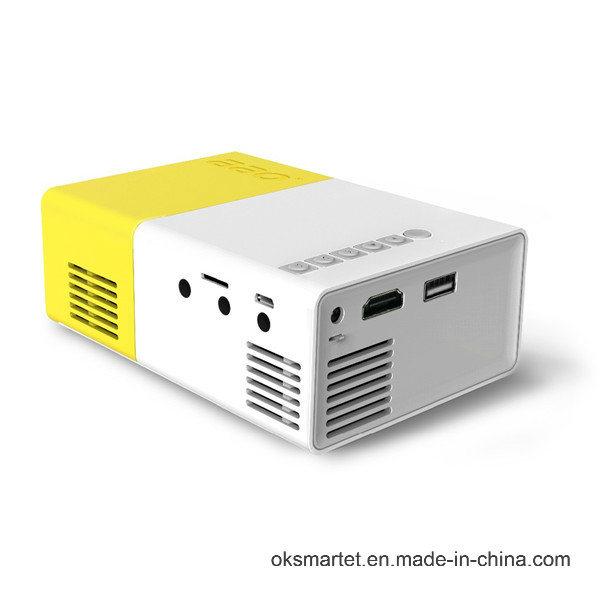 2016 Professional Manufacturer Portable Micro/Mini Qvga 320X240 Full HD Yg-300 LCD Projector