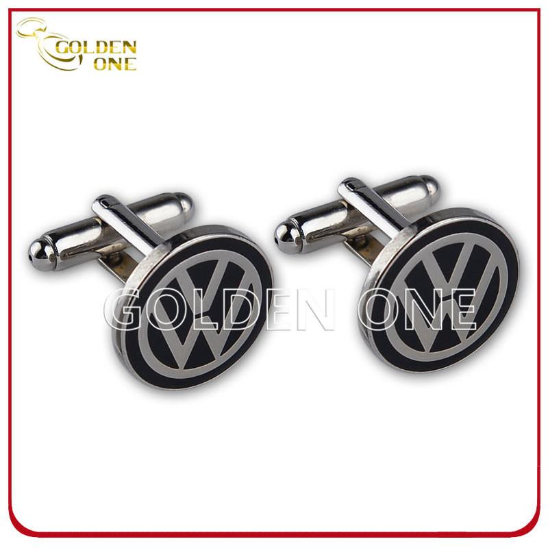 Promotion Gift Volkswagen Logo Stainless Steel Cufflink
