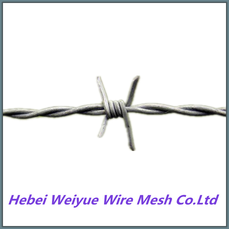 China Wholesale Farm Cattle Goat Fence Use Barbed Wire - China Razor ...