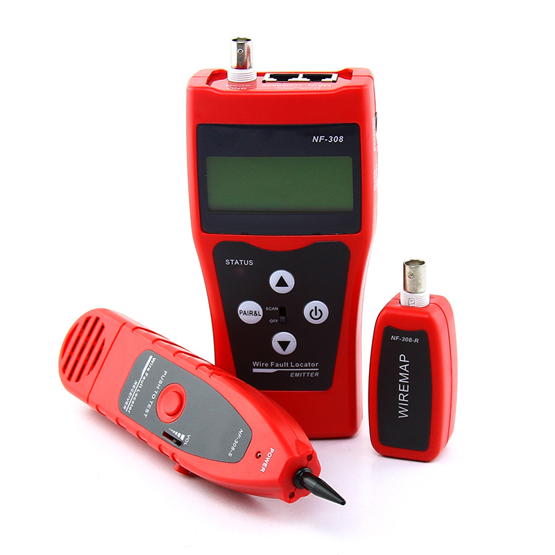 Digital LCD Network Cable Tester NF-308