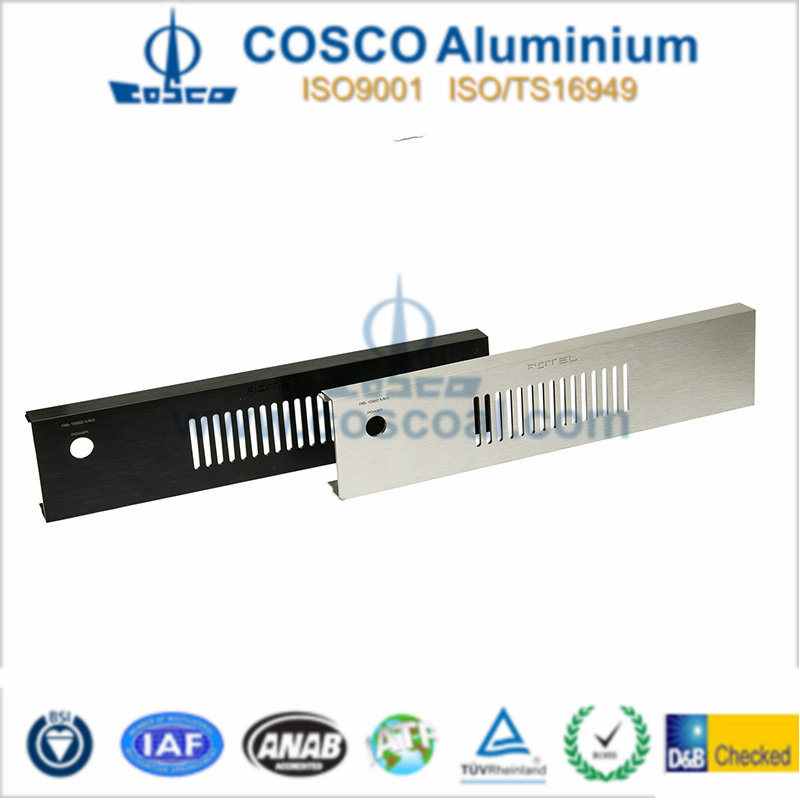 High Class Aluminum/Aluminium Profile for Audio with Finishing and Machining