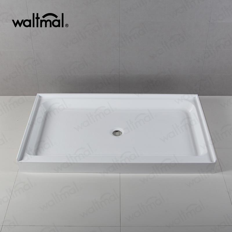 Cupc Shower Pan Base Tray Tile Wall Flange