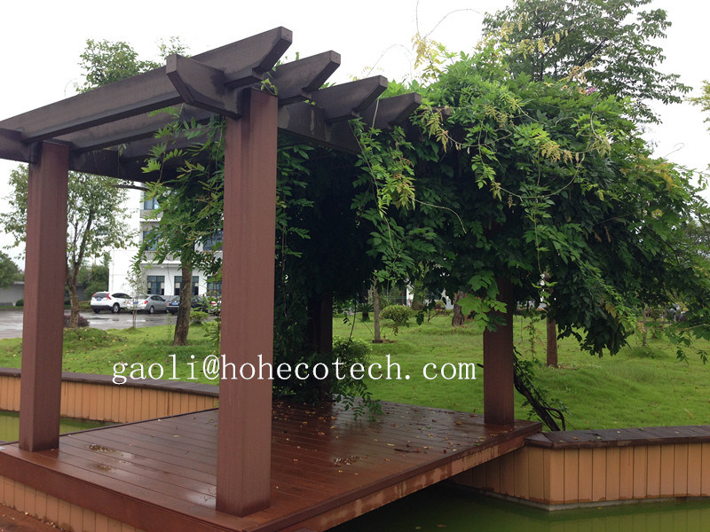 Purchase Shading Pergola Materials Hoh WPC Factory CE ASTM WPC