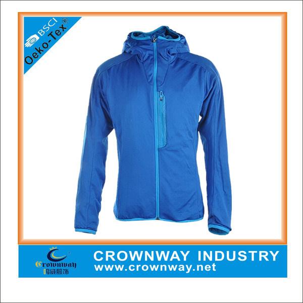 Lightweight Waterproof Blue Mens Running Jacket