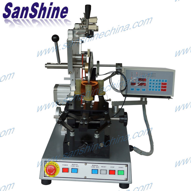 Automatic Toroid Coil Winding Machine (SS900S8)