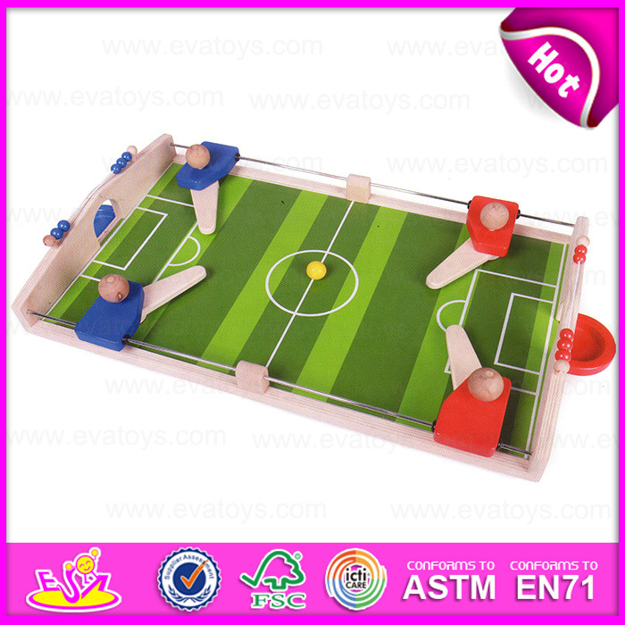 2015 Kids Indoor Mini Football/Soccer Board/Table Game for Promotional, Wholesale Wooden Mini Football Game Table Toy W01A087