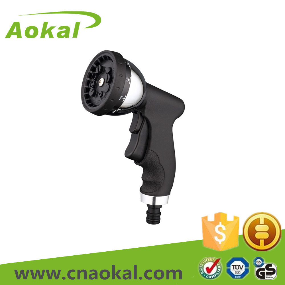 High Pressure Water 10-Pattern Nozzle Metal Spray Gun
