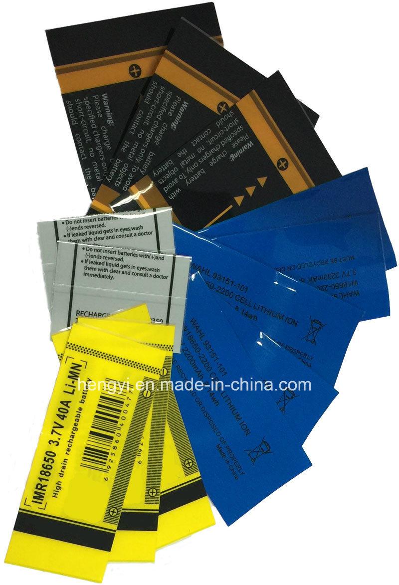 PVC Battery Shrink Label (AA size)