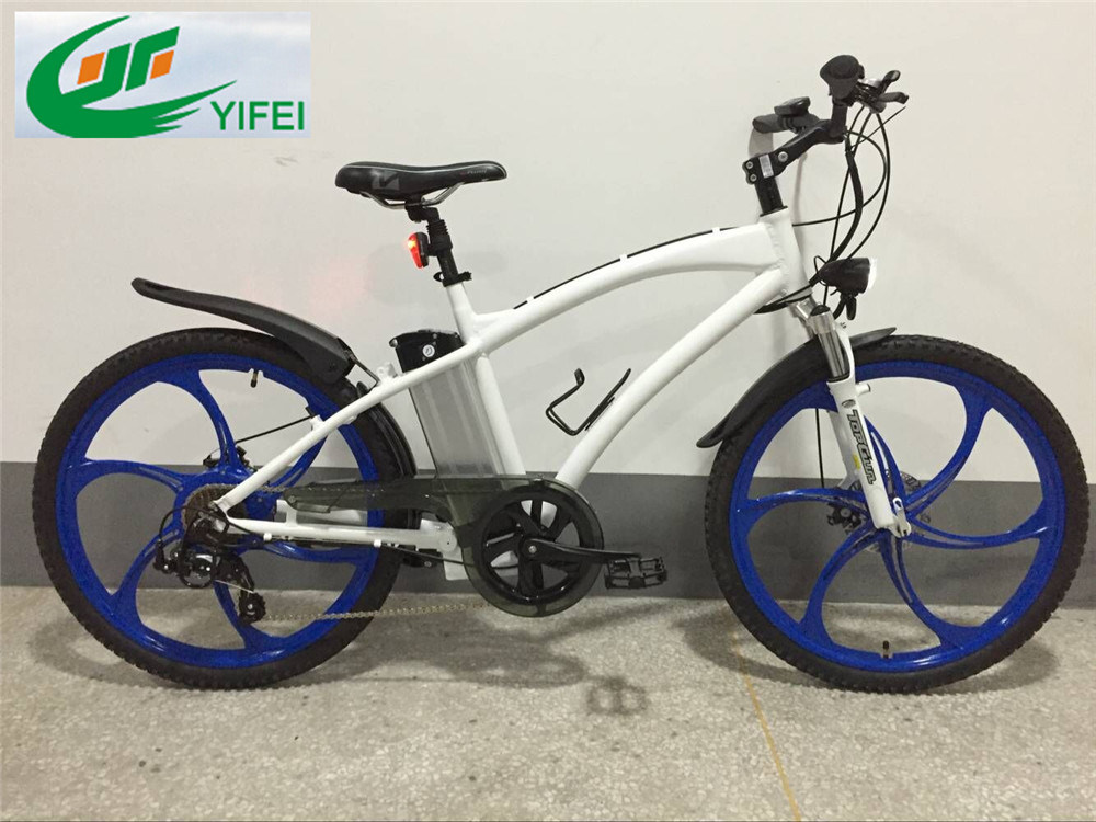 36V250W Magnesium Wheel New Arrival Mountain Electric Bike