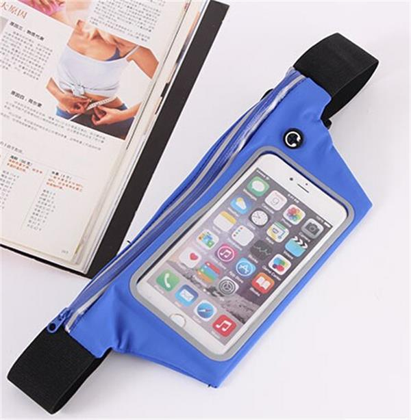Sport Touch Screen Cell Phone Waist Belt Pack/Bag for Running