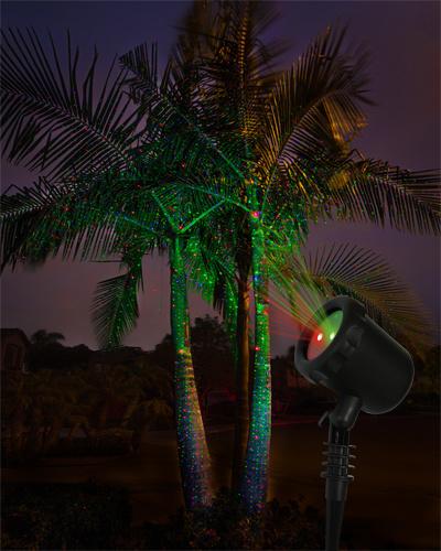 Christmas Light -Sensitive Laser Outdoor Landscape Lighting for Tree House Decoration