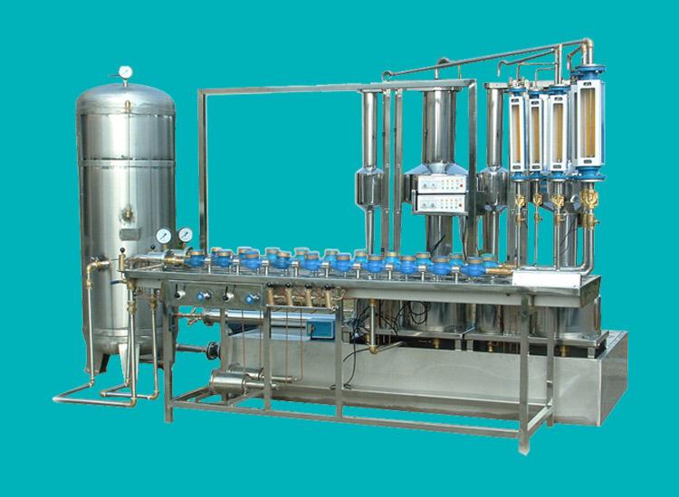 Volumetric Water Meter Test Bench