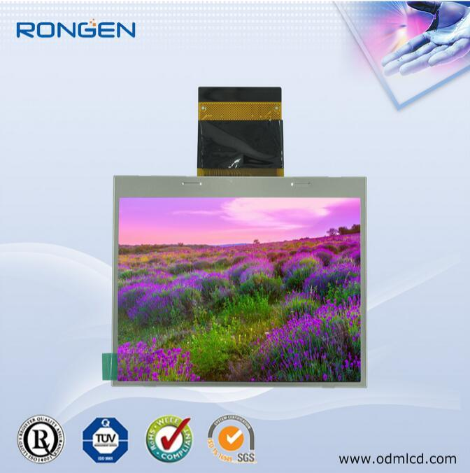 Rg035flt-01 ODM 3.5 Inch TFT LCD 450CD/M2 Game Player Screen Sunlight Readable