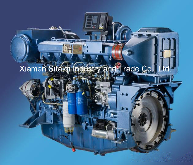 Weichai Wp12c450-21 (450HP/2100rpm) Diesel Engine Use for Marine