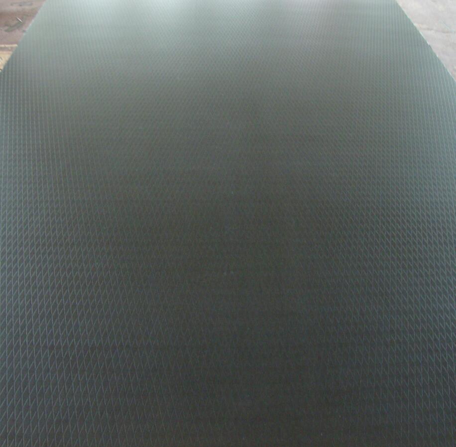 Diamond Anti-Slip Poplar-Combi Plywood for Decoration