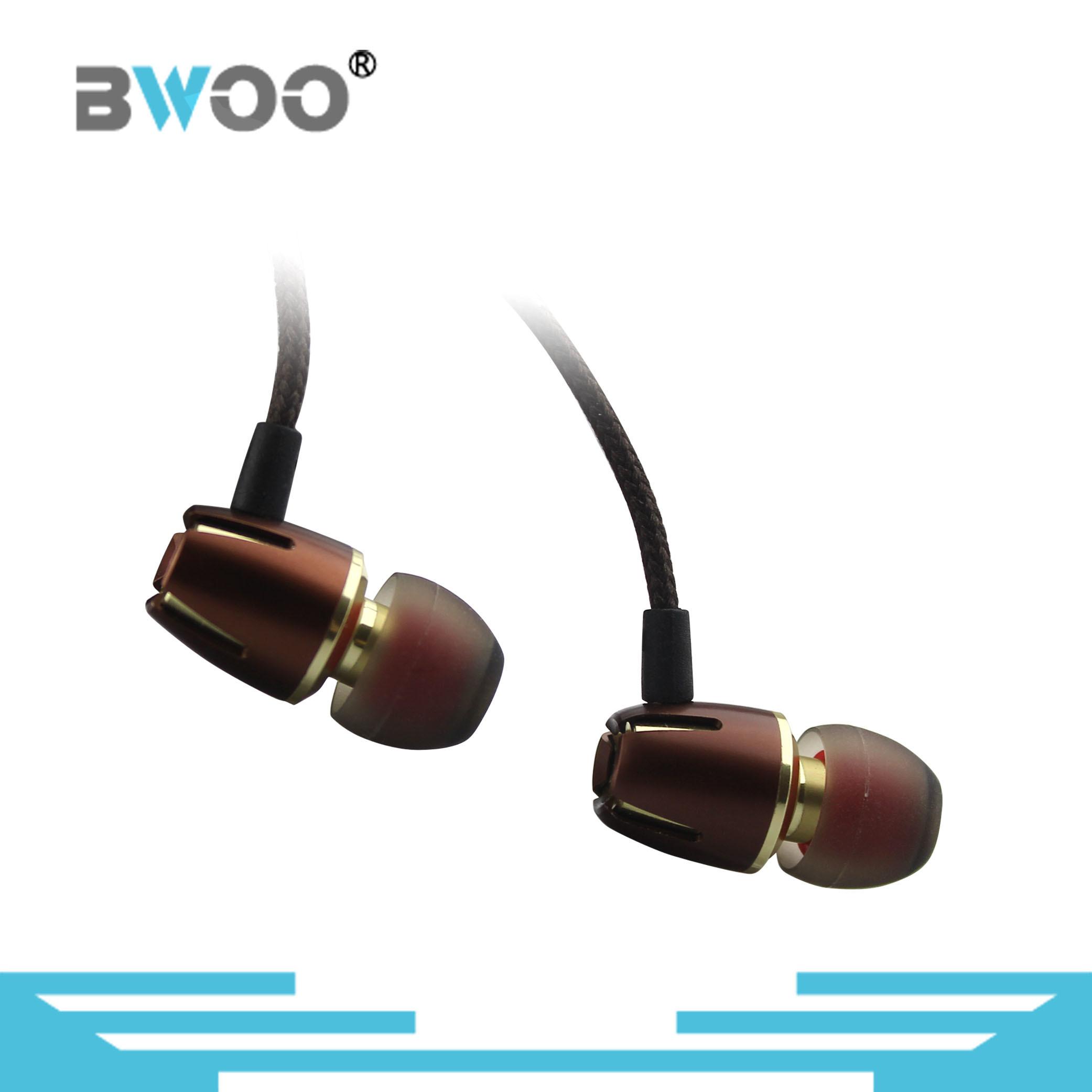 Bwoo-Hot-Selling Metal Stereo Best in-Ear Earphone Hight Level