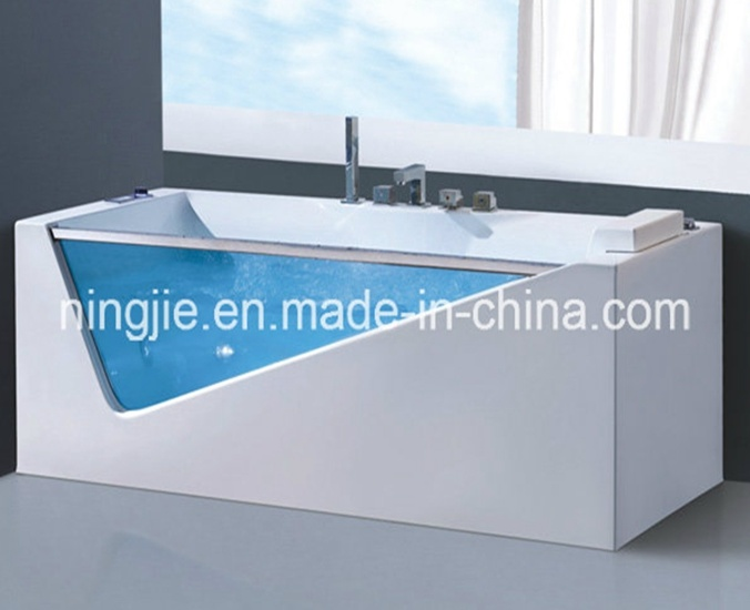 New Design Acrylic Massage Bathtub Whirlpool Bath (Nj-3029)