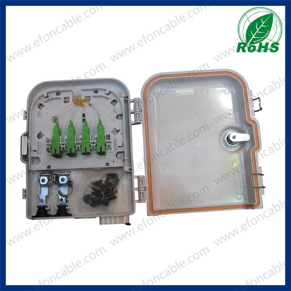 Outdoor 8fibers FTTH Terminal Box/Distribution Box/Caja De Distribucion