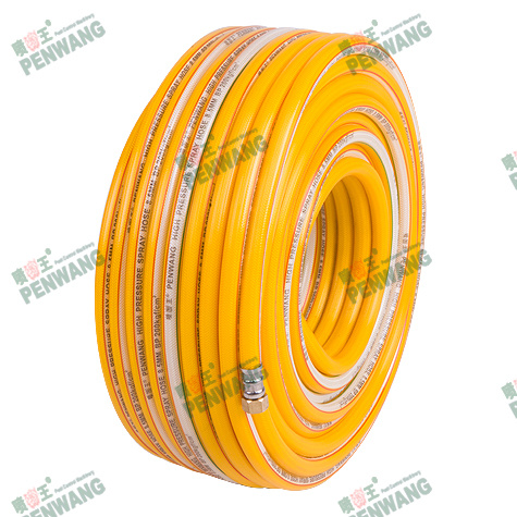 8.5mm Transparent High-Pressure Braided Spray Hose (Pw-1005-1)