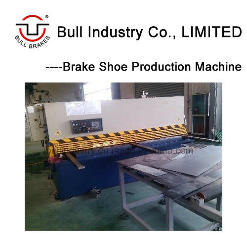 Brake Shoe Making Machine for Steel Cutting with High Efficiency