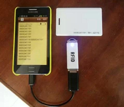 Mini USB Android 13.56MHz RFID Reader